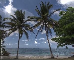 Spiaggia a nord di Baracoa