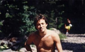 29 anni, in convalescenza in montagna dopo un incidente in allenamento (che mi indusse a considerare che forse era arrivato il momento di dedicarmi a qualcosa di meno 'cruento' dell'enduro)...