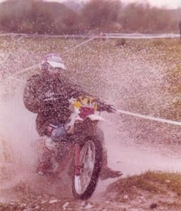 con la moto era bello...