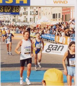 maratona di Venezia, 2001