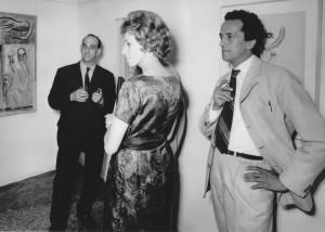 Luciano con Dina, 1962