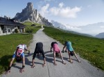 Day #4 - Down Dog in passo Giau