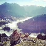 Verso la Val Gardena sul sentiero #5